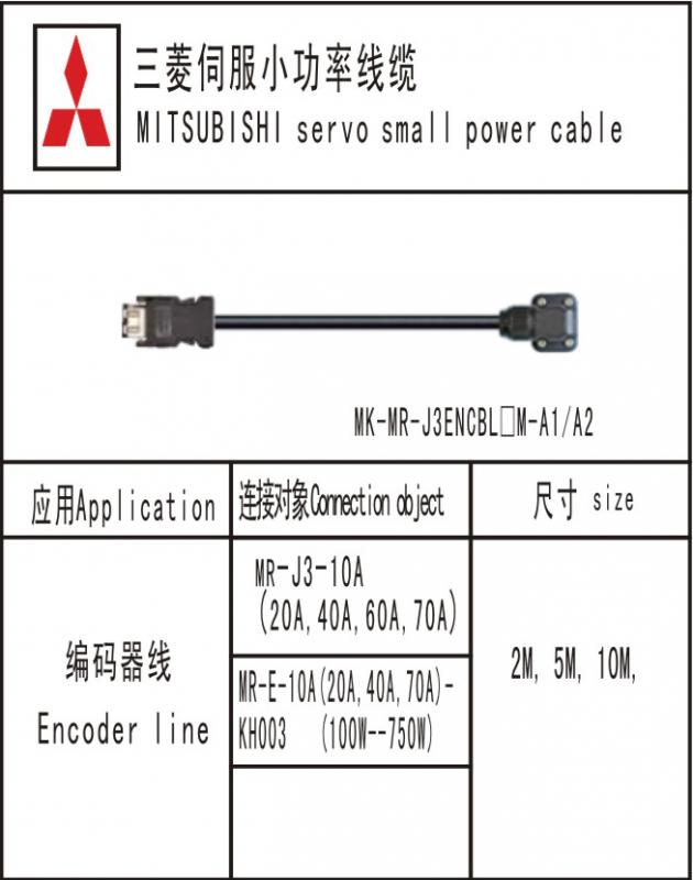 MK-MR-J3ENCBL□M-A1/A2