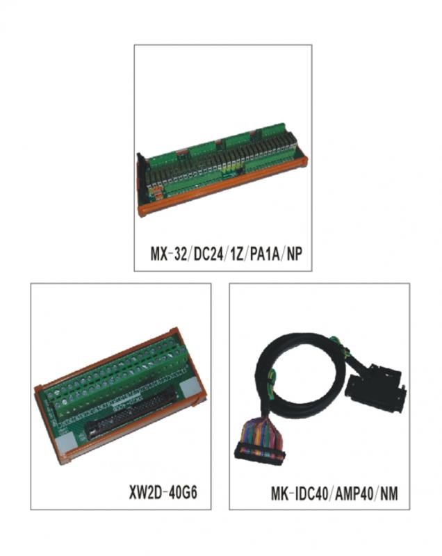 与OMRON PLC-CJ1W系列连线输入、输出模组