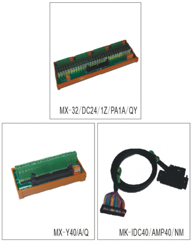 与MITSUBISHI PLC-A/Q系列连线输入、输出模组